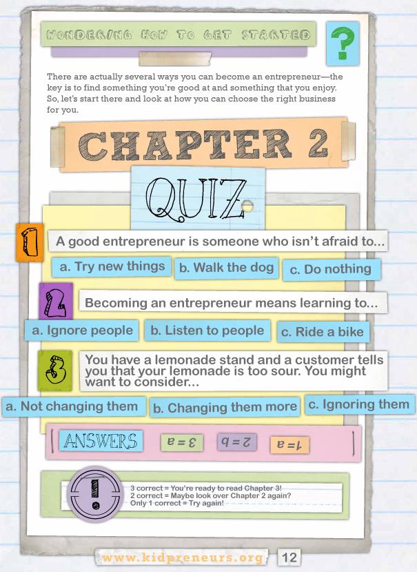 Kidpreneurs-chapter-2-sample-quiz