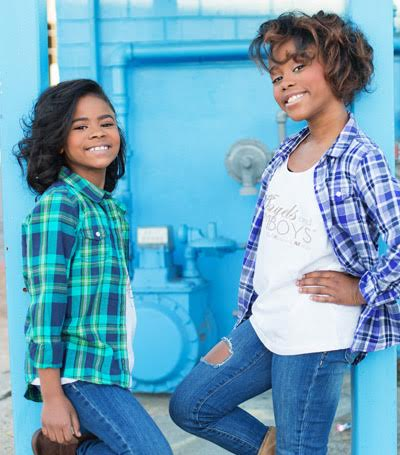 Kidpreneurs Madison Star and Mallory Iyana, Founders of Angels and Tomboys